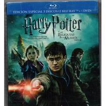 Harry Potter Y Las Reliquias De La Muerte Parte 2 , Blu Ray