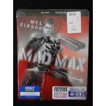 Mad Max Bluray Limited Edition Steelbook Y Tarjetas Postales