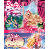 Barbie Y Las Zapatillas Mágicas/barbie En Las 12 Princesas