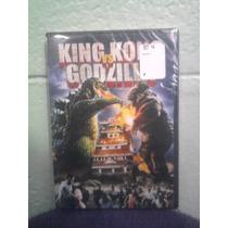 Dvd King Kong Vs Godzilla Kaiju Subtit. Español Japonesa