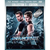 Bluray + Dvd + Dc Insurgente ( Insurgent ) 2015 - Robert Sch