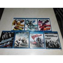 Set Rápido Y Furioso (1 A 7 Individuales) En Blu-ray Nuevas!