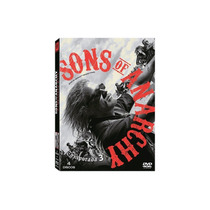 Sons Of Anarchy Temporada 3 Dvd Nuevo, Original Envio Gratis