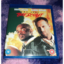 El Ultimo Boy Scout - Bluray Importado Europa Bruce Willis