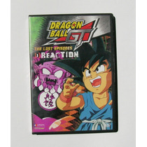 Dragon Ball Gt The Lost Episodes 1 Reaction Dvd Importado