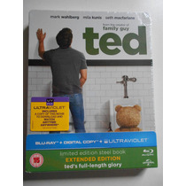Ted Extended Limited Edition Steelbook Bluray Inglaterra