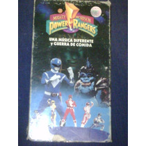 Vhs Vintage Serie Power Rangers Pelicula Mighty Morphin