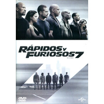 Dvd Rapidos Y Furiosos 7 ( Fast & Furious 7 ) 2015 - James W