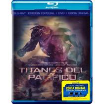 Titanes Del Pacifico, Boxset Blu-ray + Dvd + Dc