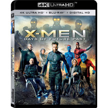 X-men : Days Of Future Past - Bluray Ultra Hd 4k + Bluray