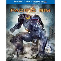 Titanes Del Pacifico, Pacific Rim Bluray + Dvd + Cop Dig