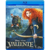 Valiente , Película Blu-ray + Dvd + Copia Digital