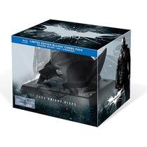 The Dark Knight Rises Batcowl Usa Edition Batman Mascara