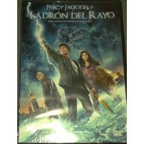 Dvd Percy Jackson Y El Ladrón Del Rayo Logan Lerman