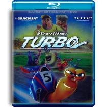 Turbo De Dreamworks La Pelicula En Blu-ray 3d + Br + Dvd