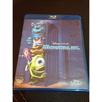Blu Ray Y Dvd Disney Pixar Monsters Inc.