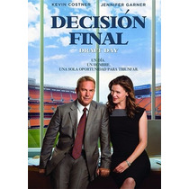 Decision Final Draft Day Kevin Costner , Pelicula En Dvd