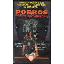 Flaco Guzman Vhs Pelicula Porros Prepa Sangrienta 1976