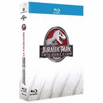 Jurassic Park Tetralogia 1 2 3 4 Boxset Peliculas Blu-ray