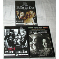 Peliculas De Luis Buñuel En Dvd. El Angel, El Río, Bella