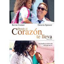 Donde El Corazon Te Lleva Black Or White , Pelicula En Dvd