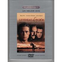 Dvd Superbit Leyendas De Pasion Brad Pitt Anthony Hopkins