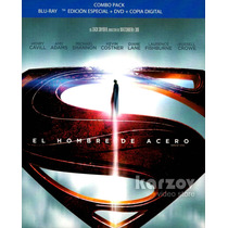 Man Of Steel El Hombre De Acero Blu-ray + Dvd + Digital Copy