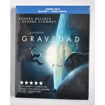 Gravedad Gravity Sandra Bullock G Clooney Alfonso Cuaron