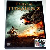 Dvd: Furia De Titanes 2 (2012) Sam Worthington, Liam Neeson