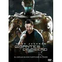 Dvd Gigantes De Acero ( Real Steel ) 2011 - Shawn Levy