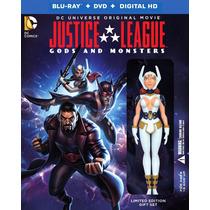 Liga De La Justicia Dioses Y Monstruos Dc Pelicula Bd + Dvd