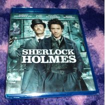 Sherlock Holmes - Bluray Importado De Usa Robert Downey Jr