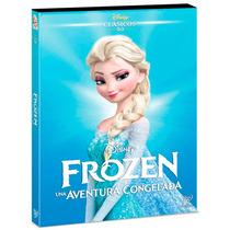 Frozen Una Aventura Congelada Clasicos Disney , Pelicula Dvd