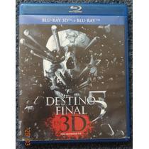 Blu-ray 3d Destino Final 5 Usada Bluray