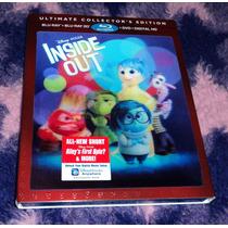 Intensa-mente - Inside Out - Bluray 3d + 2d + Dvd Importado