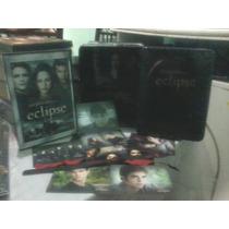 Dvd Crepúsculo Eclipse Original En Caja Metálica Kit 2 Dvd