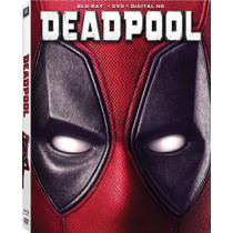 Deadpool - Bluray + Dvd Importado Usa Ryan Reynolds Marvel