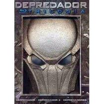 Depredador Trilogia En Blu-ray Con Mascara
