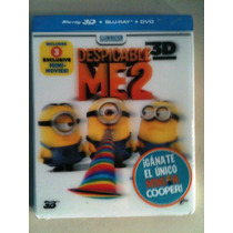 Mi Villano Favorito 2 En 3d ( Bluray 3d + Bluray + Dvd )