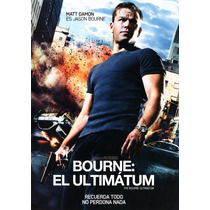 Bourne El Ultimatum Pelicula En Dvd