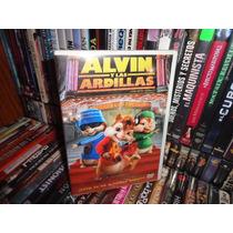 Alvin Y Las Ardillas Dvd Pelicula Infantil Niños