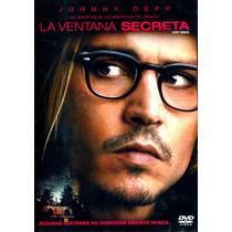 Dvd La Ventana Secreta ( Secret Window ) 2004 - David Koepp