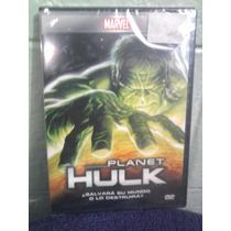 Dvd Planeta Hulk Anime Caricaturas Marvel Comics