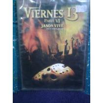 Dvd Viernes 13 Parte 6 Jason Terror Gore Zombies