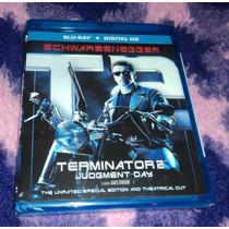 Terminator 2 - Bluray Edicion Restaurada Importado Usa