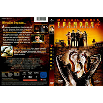 Dvd Clasico Tremors 4 Principio De La Leyenda Temblor Gusano