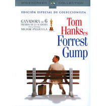 Forrest Gump Dvd Tom Hanks Pelicula Seminuevo Widescreen