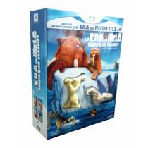 La Era Del Hielo 1 2 3 Y 4 Box Blu Ray Muñecos De Coleccion