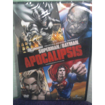 Dvd Caricaturas Dc Comics Batman Y Superman Apocalipsis