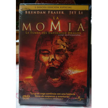 Dvd - La Momia - La Tumba Del Emperador Dragon. Ed. 2 Dvd´s